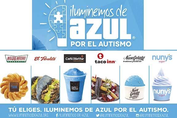 AZUL, EL COLOR SOLIDARIO
